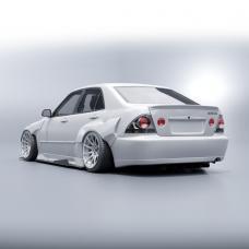KFDteam LIP spoiler for Lexus IS200 IS300 Toyota Altezza GXE10 SXE10 1998 - 2005 - Exclusive Design by KFD Team