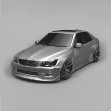 KFDteam AERO Kit TYPE2 for Lexus IS200 IS300 Toyota Altezza GXE10 SXE10 1998 - 2005 - Exclusive Design by KFD Team