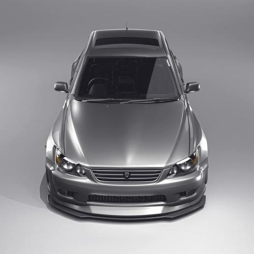 Splitters set for KFDteam AERO Kit TYPE2 Lexus IS200 IS300 Toyota Altezza GXE10 SXE10 1998 - 2005