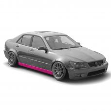 KFDteam TYPE1 Side Skirts for Lexus IS200 IS300 Toyota Altezza GXE10 SXE10 1998-2005 - Exclusive Design by KFD Team