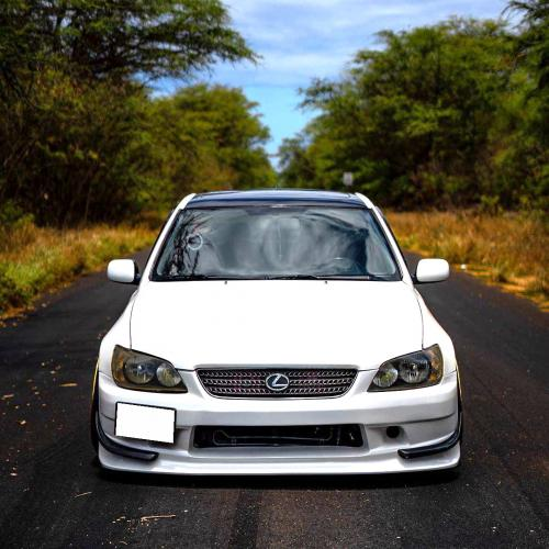 Front bumper Vertex Endurance style for Altezza sxe10 Lexus is200/300 98-05