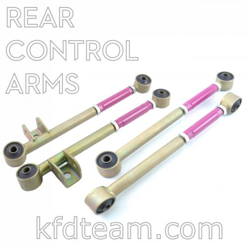 KFD adjustable Rear side Control Arm set for WRX STi GC8 GDA GDB 1993-2001
