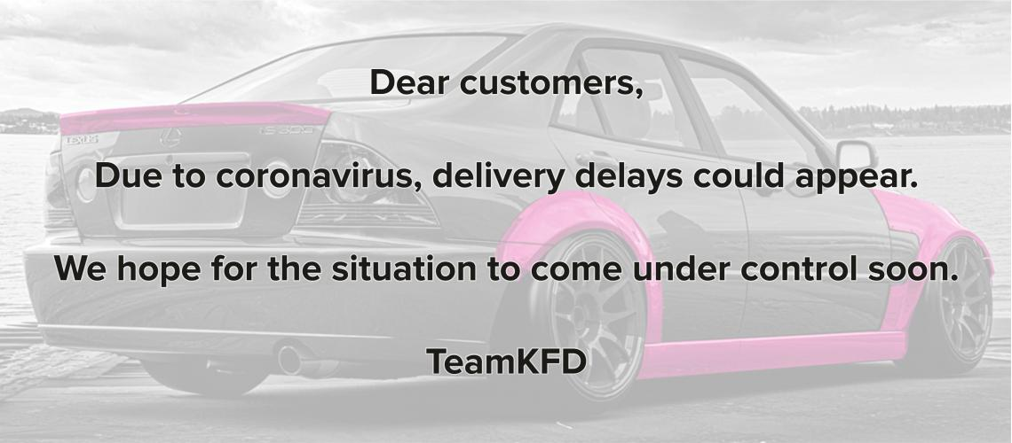 delays due to coronavirus