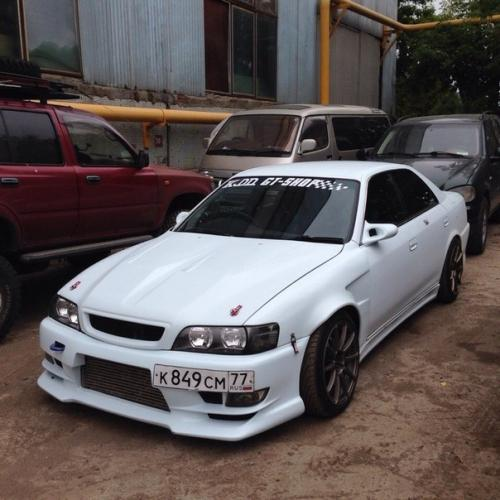 Front fenders Stage21 style for Toyota Chaser jzx100 + 55mm